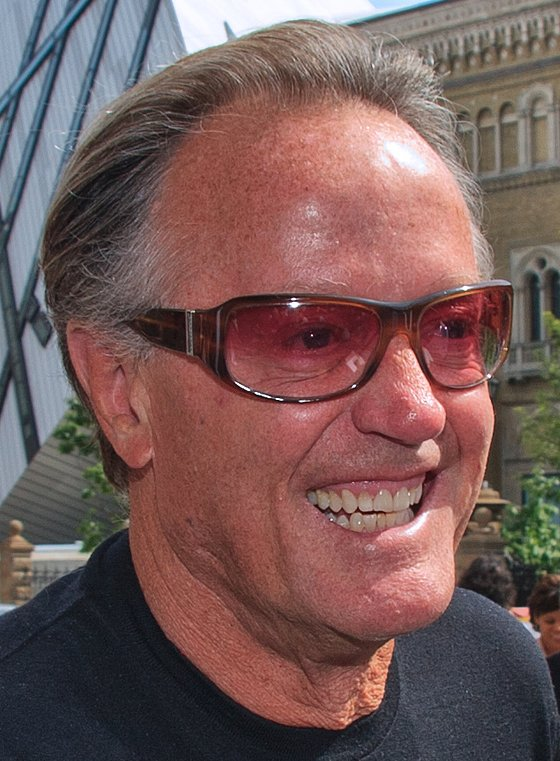 Peter Fonda attends the 2010 Toronto International Film Festival. | Source: Wikimedia Commons