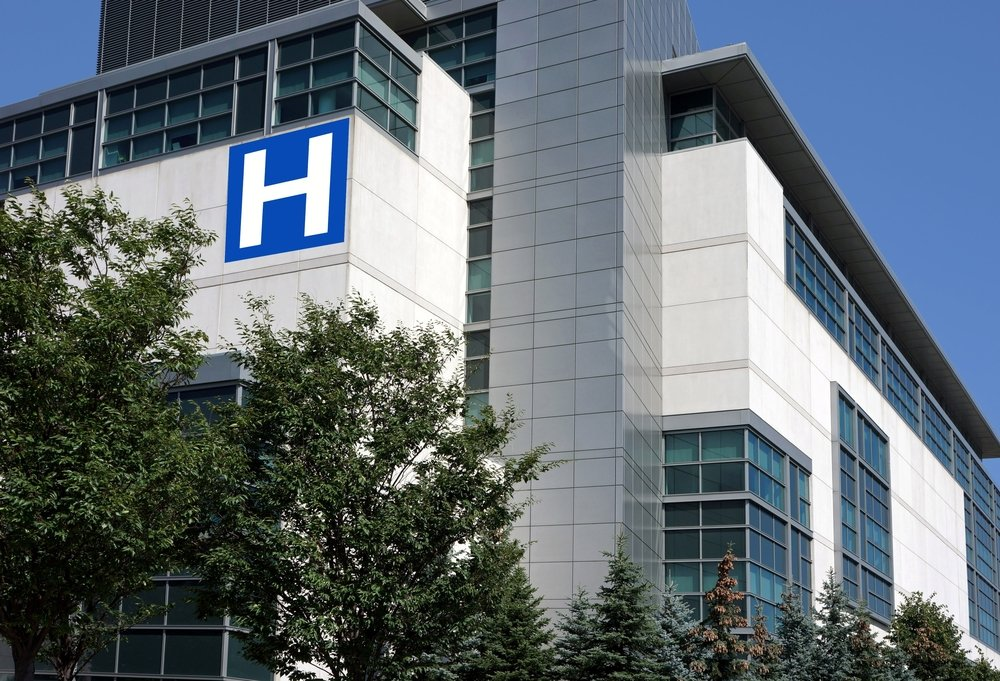 Un hôpital. l Source: Shutterstock