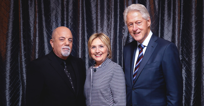Bill and Hillary Clinton Spotted Rocking out at a Billy Joel Concert