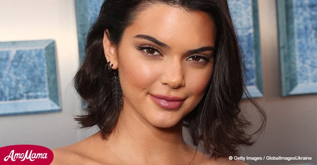 Kendall Jenner is seen with a mysterious dark-haired male after allegedly getting back with Blake