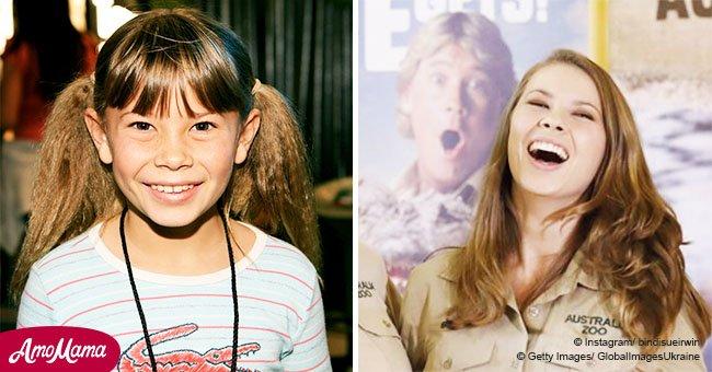 Here's what Steve Irwin's teen daughter looks like in 2018