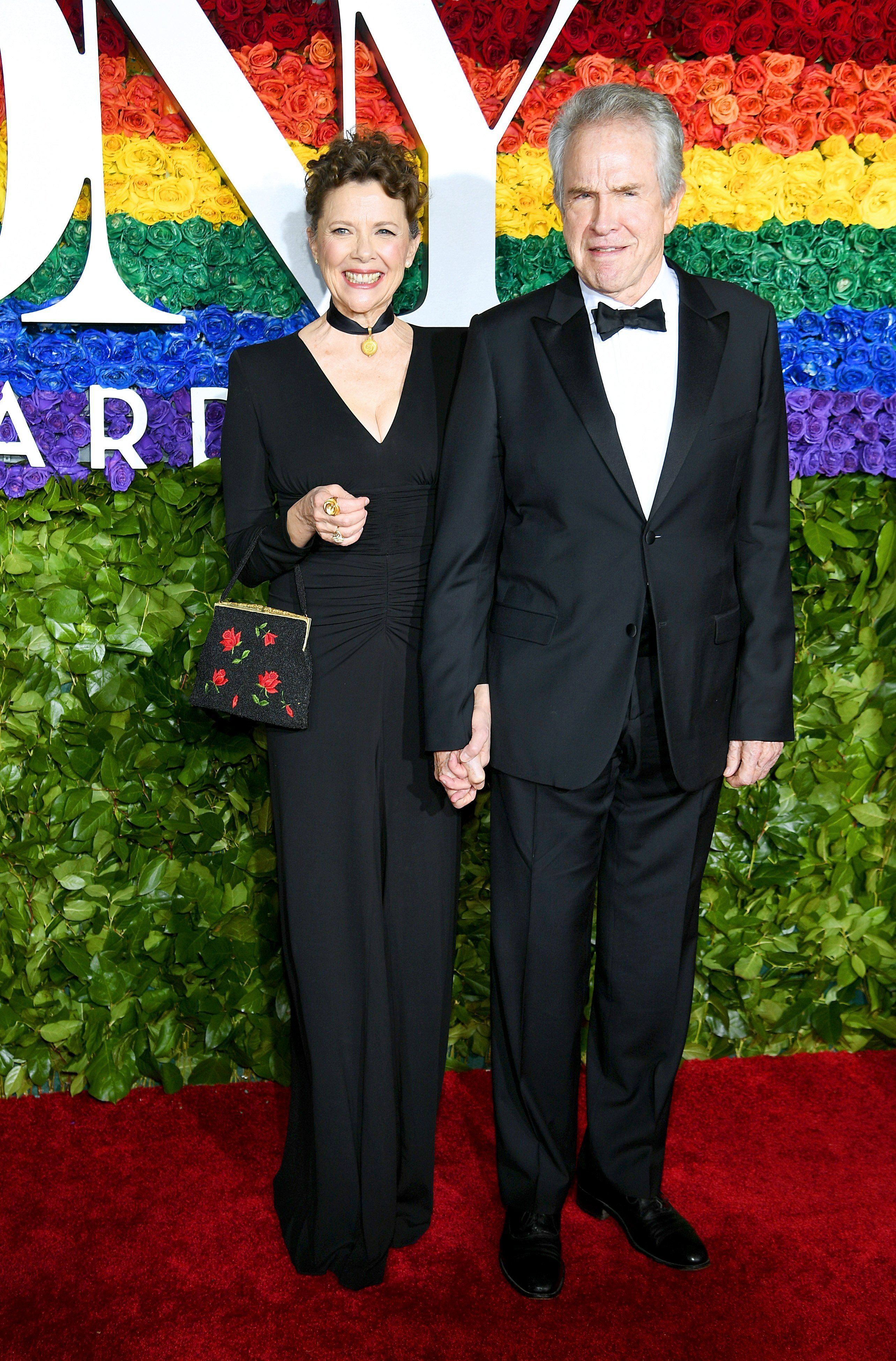 Annette Bening and Warren Beatty attends the 73rd Annual Tony Awards at Radio City Music Hall on June 09, 2019, in New York City | Photo: Getty Images.