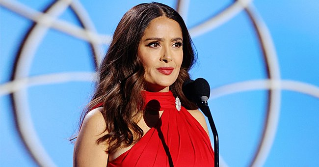 See Salma Hayek's Makeup-Free Selfie as She Channels This 'Charlie's Angels' Icon