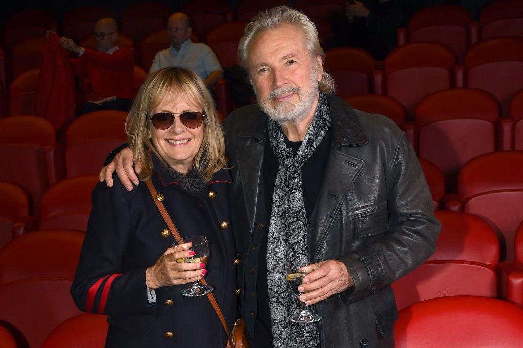 Twiggy and Leigh Lawson attend a Pavarotti documentary screening at Soho Hotel on June 11, 2019 in London   Photo: Getty Images