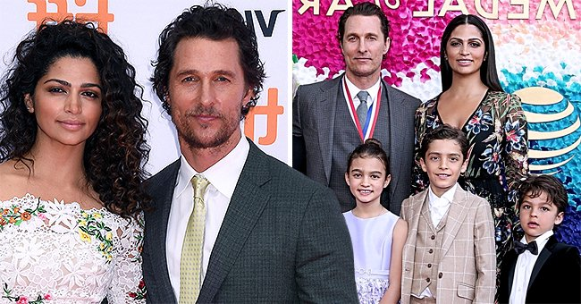 Matthew McConaughey and His Wife Camila Alves Open up about Using Tough Love in Raising Their Kids