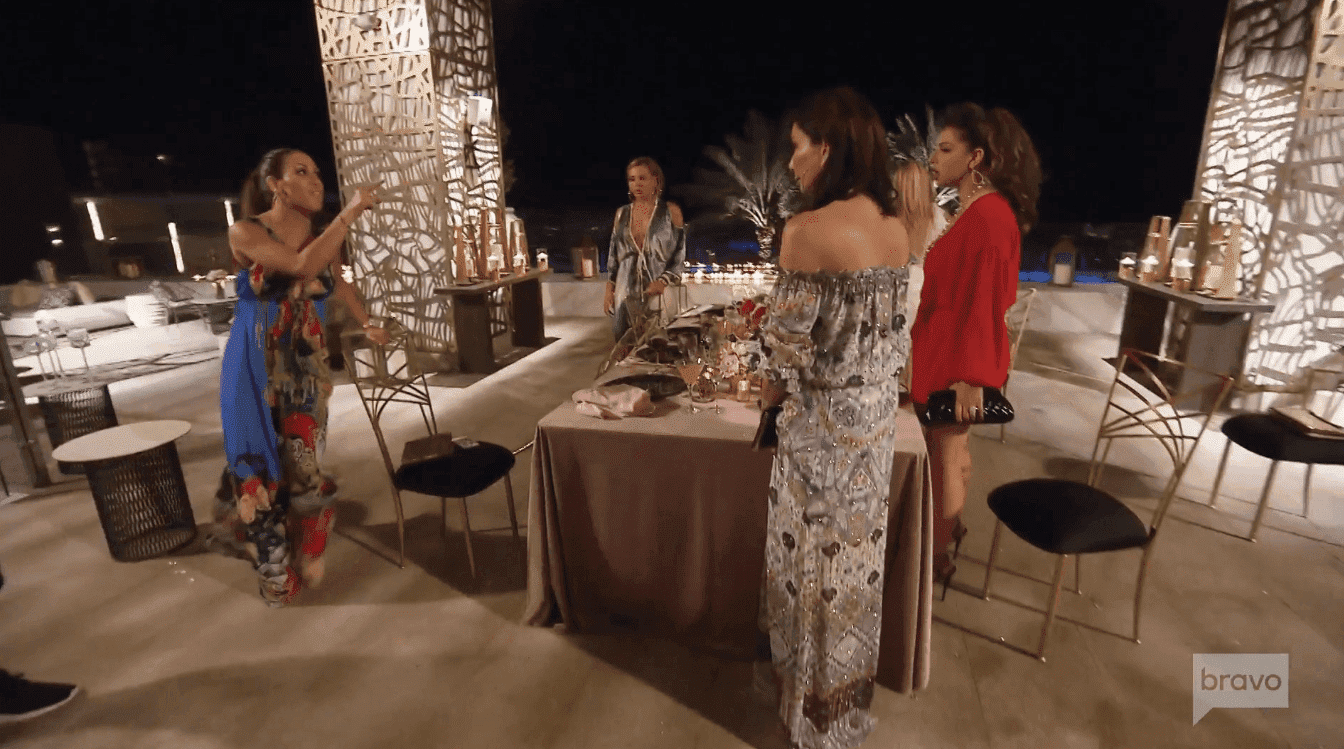 "Jennifer Aydin and Melissa Gorga fight at the end of the ""RHONJ"" episode 