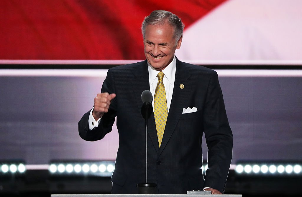 Lt. Gov. of South Carolina, Henry McMaster delivers a speech at the start of the second day of the Republican National Convention on July 19, 2016 | Photo: Getty Images