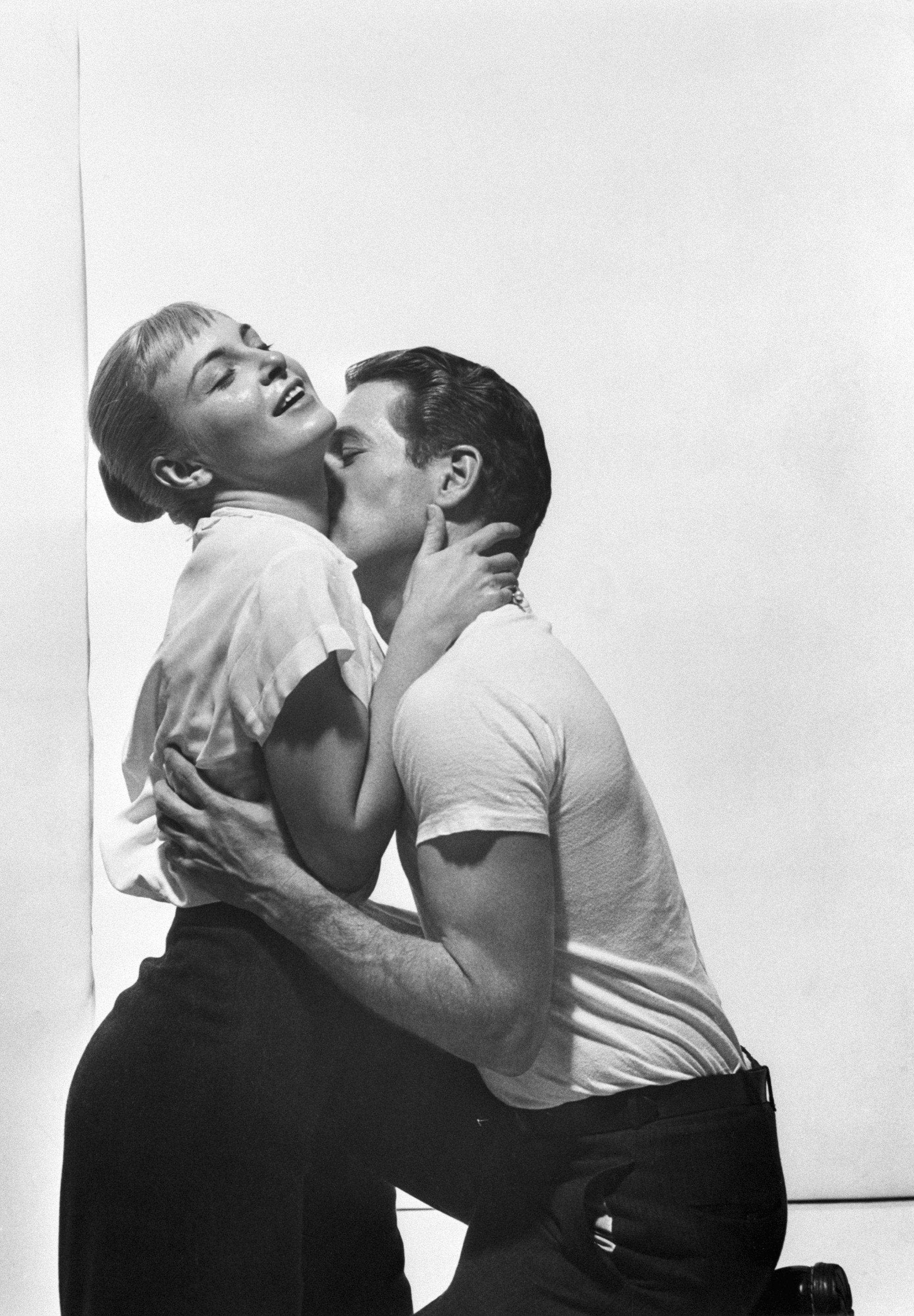 """Paul Newman and Joanne Woodward in """"The Long Hot Summer"""", 1958 