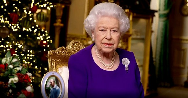 See Queen Elizabeth's Rare Romantic Nod to Prince Philip during Her Christmas Speech