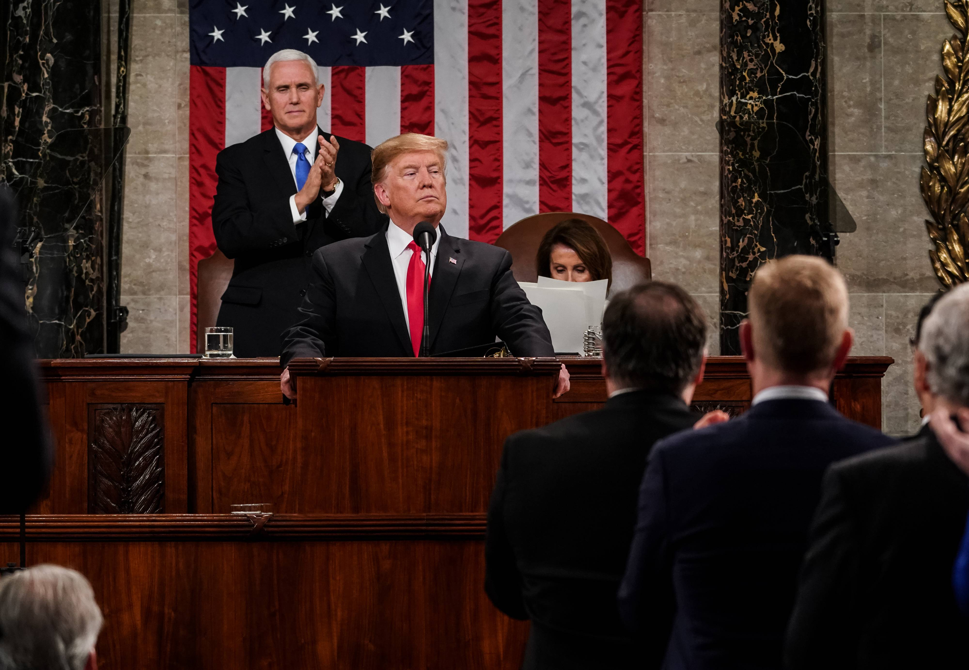 President Trump delivers State Of The Union address | Photo: Getty Images