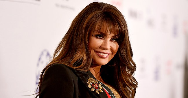 Marie Osmond Looks Slender Rocking a Tight Black Dress as She Wishes Garth Brooks a Happy B-Day