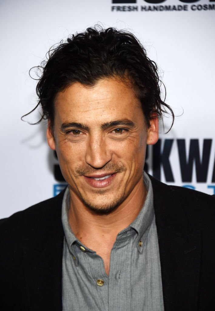 "Andrew Keegan arrives at a screening of Freestyle Releasing's ""Sharkwater Extinction"" 