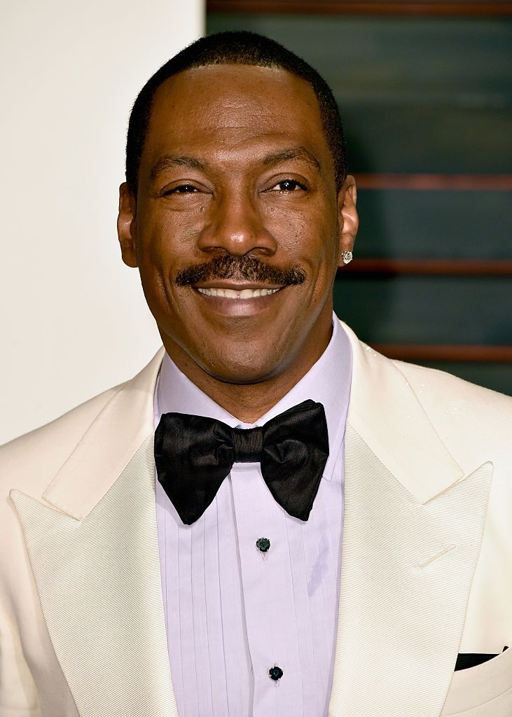 Eddie Murphy at the Vanity Fair Oscar Party on February 22, 2015 in Beverly Hills. │ Photo: Getty Images