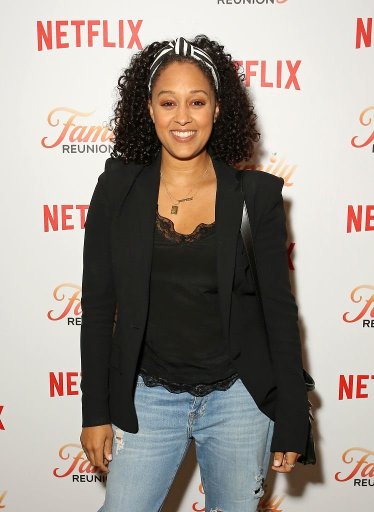 "Tia Mowry attends the Netflix ""Family Reunion"" LA Screening at NETFLIX 