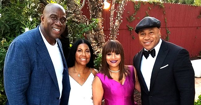 Check Out This Groovy Pic Shared by LL Cool J's Wife Simone Smith to Celebrate Magic Johnson's B-Day