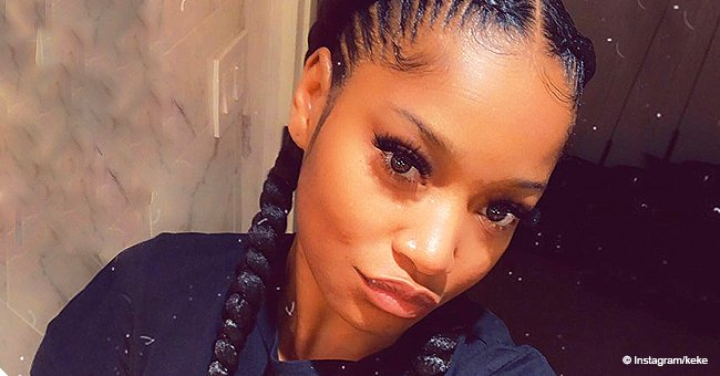 Keke Palmer Mesmerizes with Her 'Vixen Baby Doll Eyes' & Neatly Braided Hair in Stunning Photo