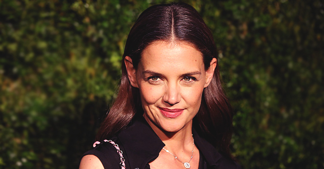 Katie Holmes of 'Dawson's Creek' Flaunts Her Fit Figure in Silver Dress on the Cover of Shape Magazine