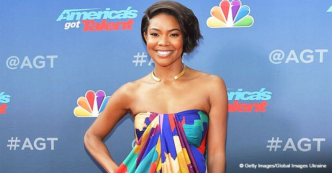 Gabrielle Union Glows in Colorful Strapless Dress as She Makes Her Debut on 'America's Got Talent'