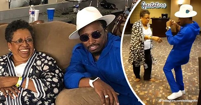 Remembering Eddie Griffin's Energetic Two-step Dance with His Mother