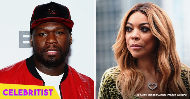 Wendy Williams throws shade at 50 Cent after he made fun of her fainting on air
