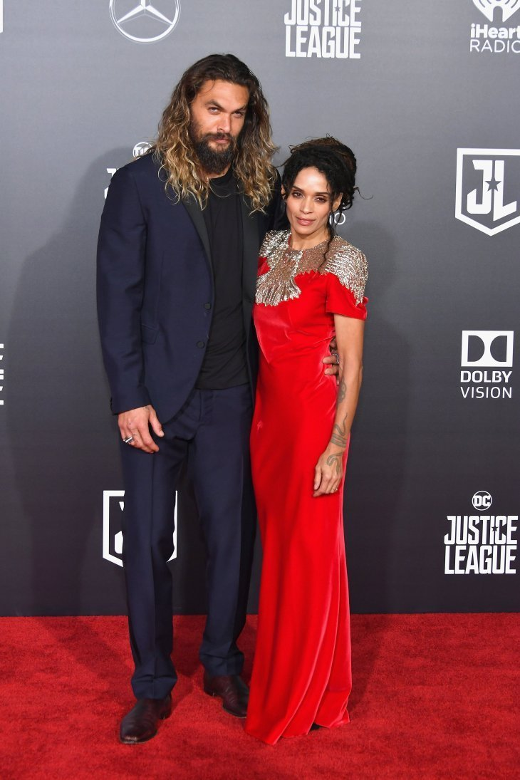 Lisa Bonet and Jason Momoa on the red carpet while promoting his film, Aquaman. Source: Getty Images