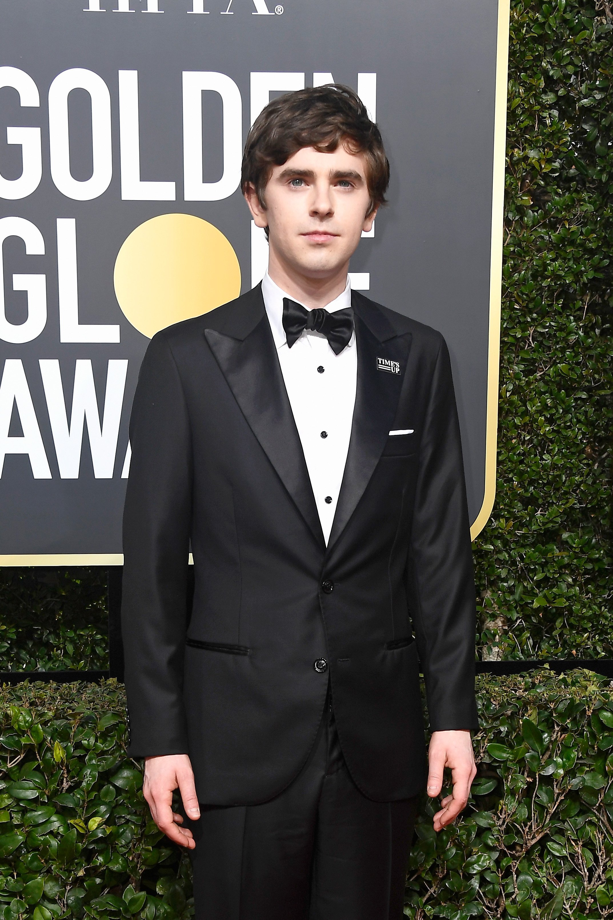 Actor Freddie Highmore attends The 75th Annual Golden Globe Awards at The Beverly Hilton Hotel | Source: Getty Images