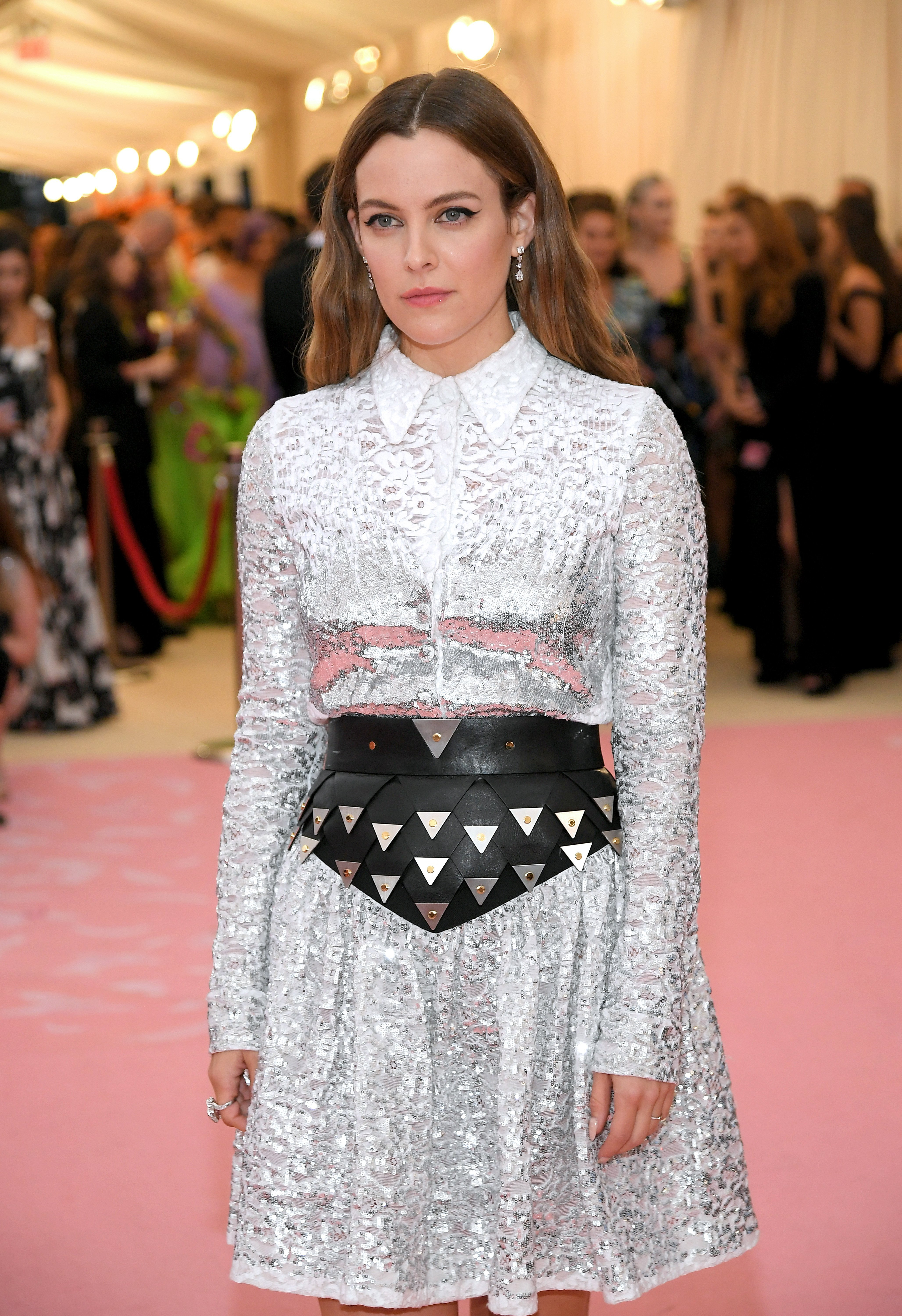 Riley Keough attends the Met Gala Celebrating Camp: Notes on Fashion in New York City on May 6, 2019 | Photo: Getty Images