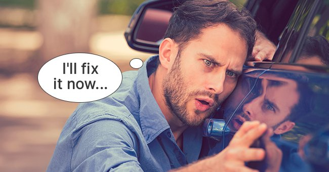 Daily Joke: Clever Brad Gives Big John Advice for Fixing Dents on His Car