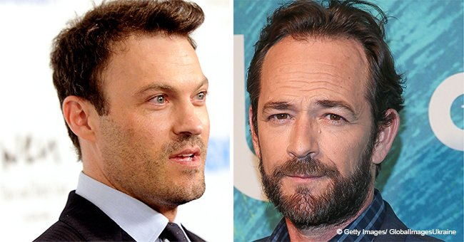 Brian Austin Green Reveals Why He Texted Luke Perry after His Death