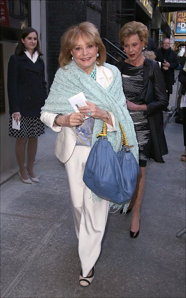 Barbara Walters attends the Broadway Opening Night performance of 'The Father' at The Samuel J. Friedman Theatre | Photo: Getty Images