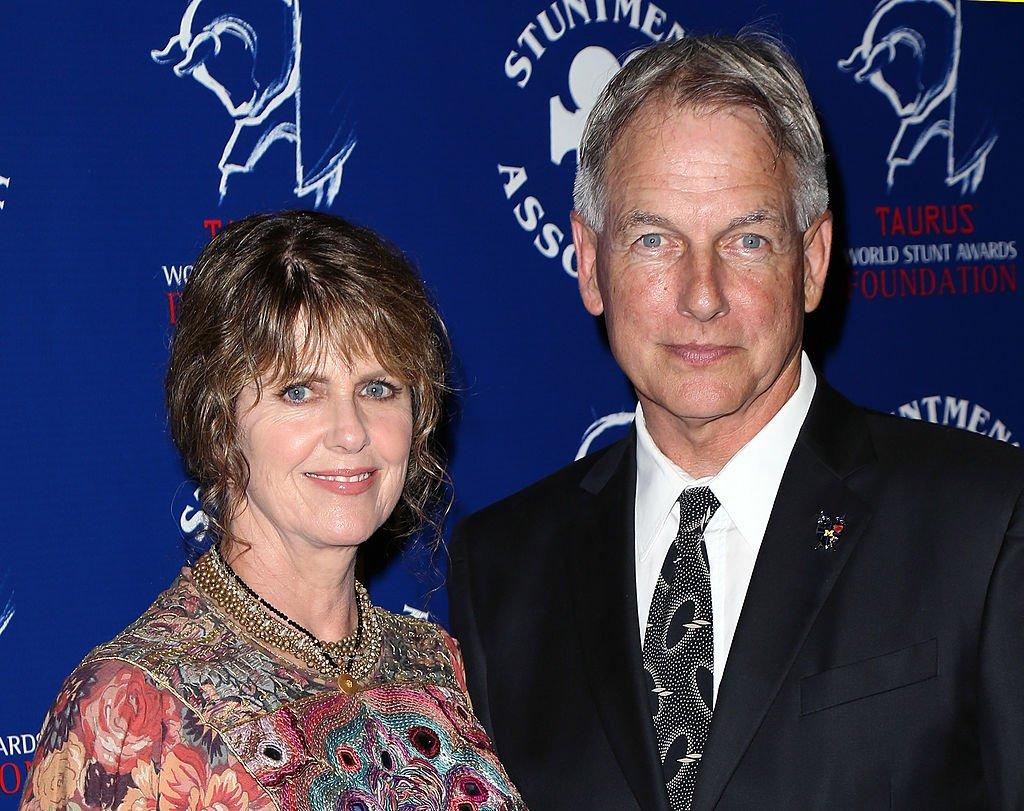 Pam Dawber and Mark Harmon at the Stuntmen's Association of Motion Pictures 52nd Annual Awards Dinner on September 14, 2013, in California | Source: Getty Images