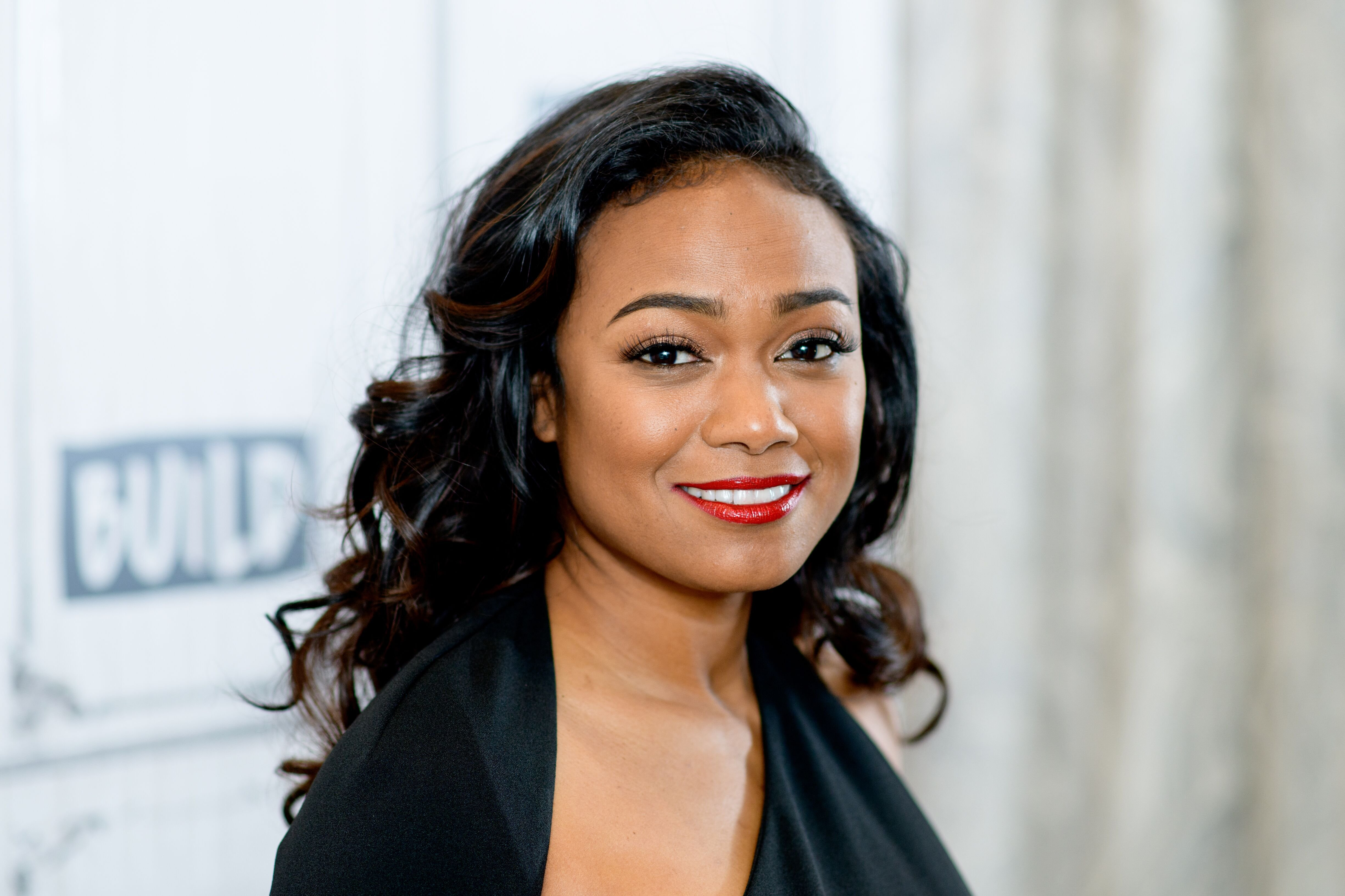 "Tatyana Ali discusses American Heart Association's ""Go Red"" campaign with the Build Series at Build Studio on February 8, 2018 