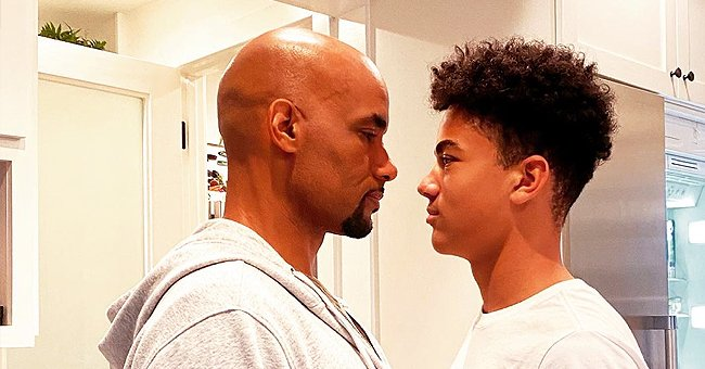 Boris Kodjoe's Wife Nicole Is Stunned as Their 14-Year-Old Son Is As Tall As His Dad in a New Photo