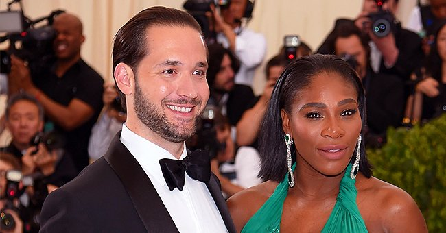 Alexis Ohanian's Daughter Olympia and Wife Serena Williams Play Together in a Cute Photo