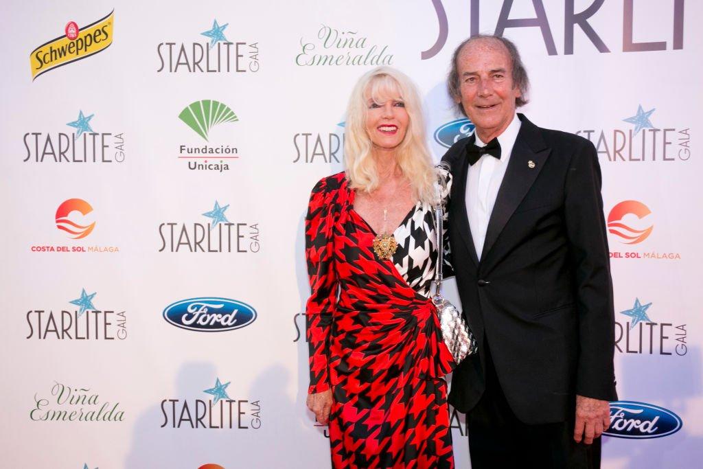 Gunilla Von Bismarck y Luis Ortiz asisten a la Gala Starlite el 11 de agosto de 2018 en Marbella, España. | Foto: Getty Images