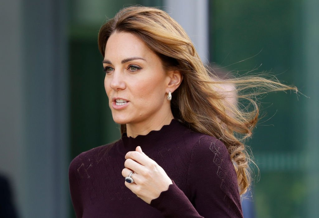 Kate Middleton leaves after a visit to The Angela Marmont Centre For UK Biodiversity at Natural History Museum | Photo: Getty Images