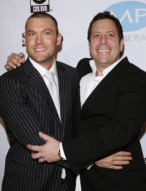 Brian Austin Green and Darren Star. Image Credit: Getty Images