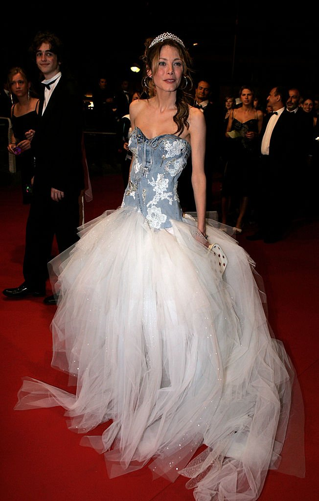 Mallaury Nataf le 19 mai 2005 au Festival de Cannes. l Source : Getty Images