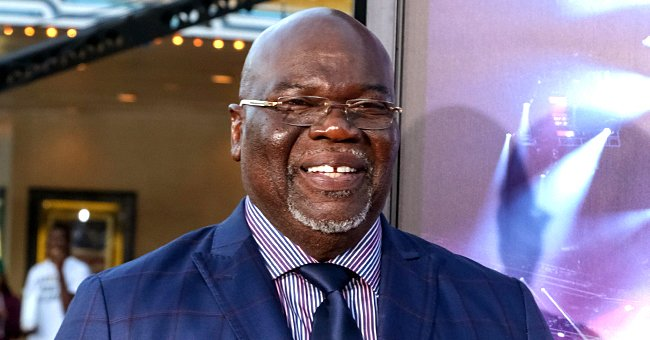 Check Out Bishop TD Jakes' Dapper Style in This New Picture of Him in a Denim Vest