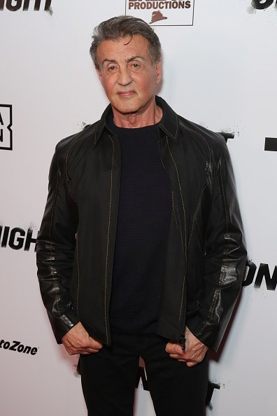 Sylvester Stallone at Writers Guild Theater on November 21, 2019 in Beverly Hills, California. | Photo: Getty Images