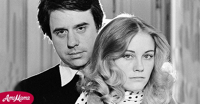 Peter Bogdanovich and Cybill Shepherd photographed prior to the release of 'Daisy Miller' on May 01, 1974, | Photo: Getty Images