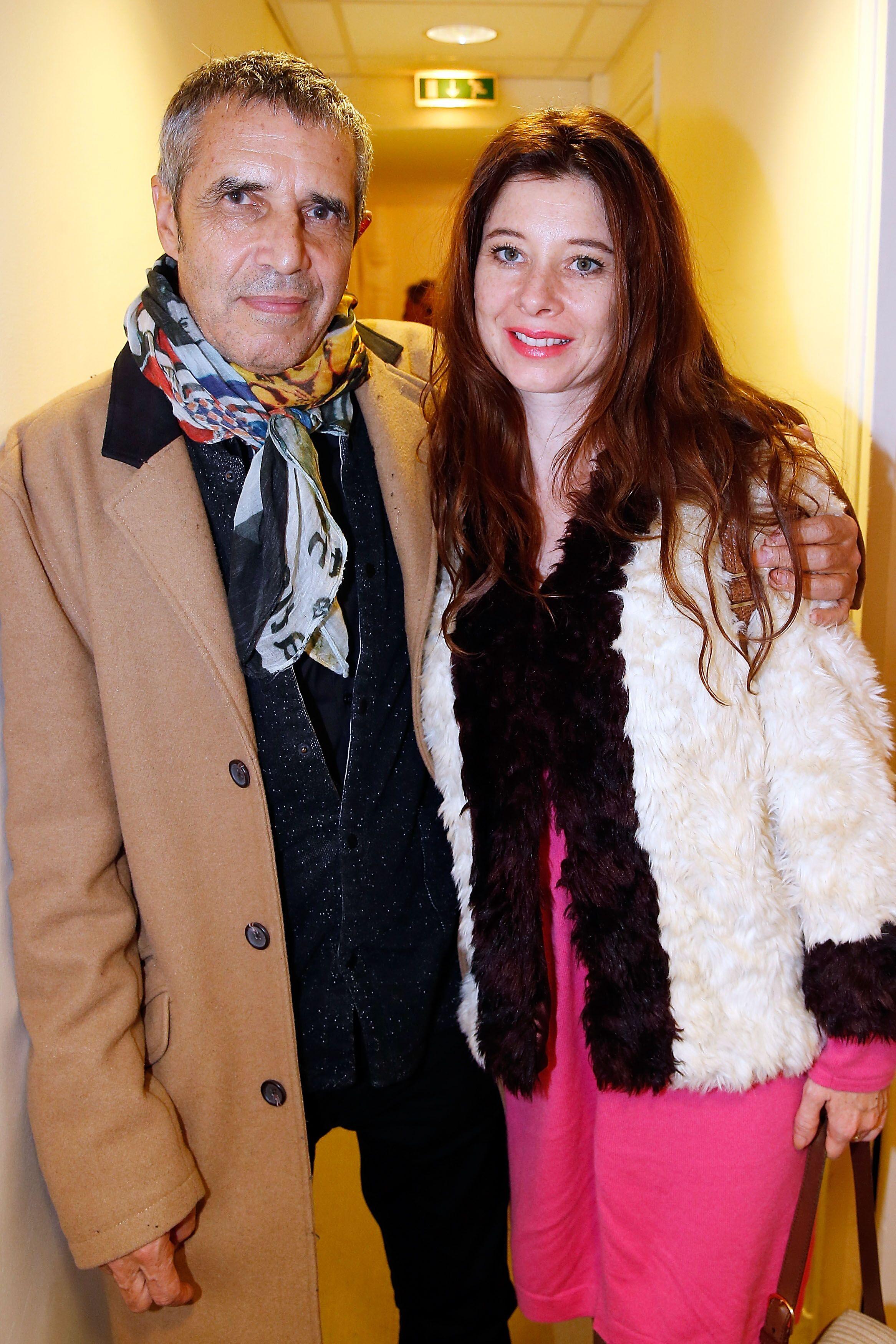 Le chanteur Julien Clerc et sa compagne. l Source : Getty Images