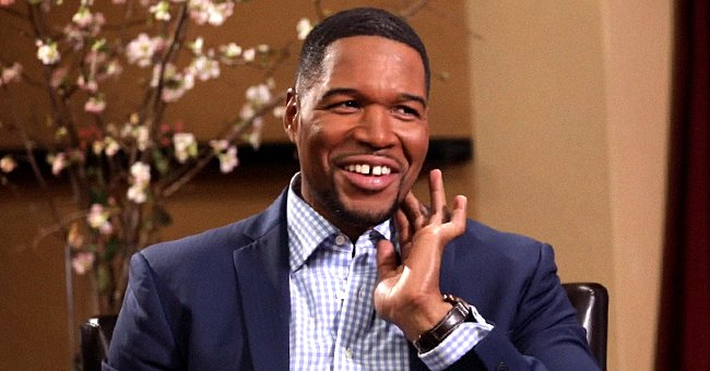 Michael Strahan Shares a Photo of His Beautiful Twin Daughters Enjoying a Date Night with Him