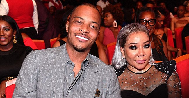 TI Makes Fun of Wife Tiny Harris' Gray Hair in Recent Video