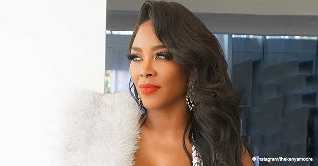 Kenya Moore Accused of Lightening Her Skin after Posting Gorgeous Photos