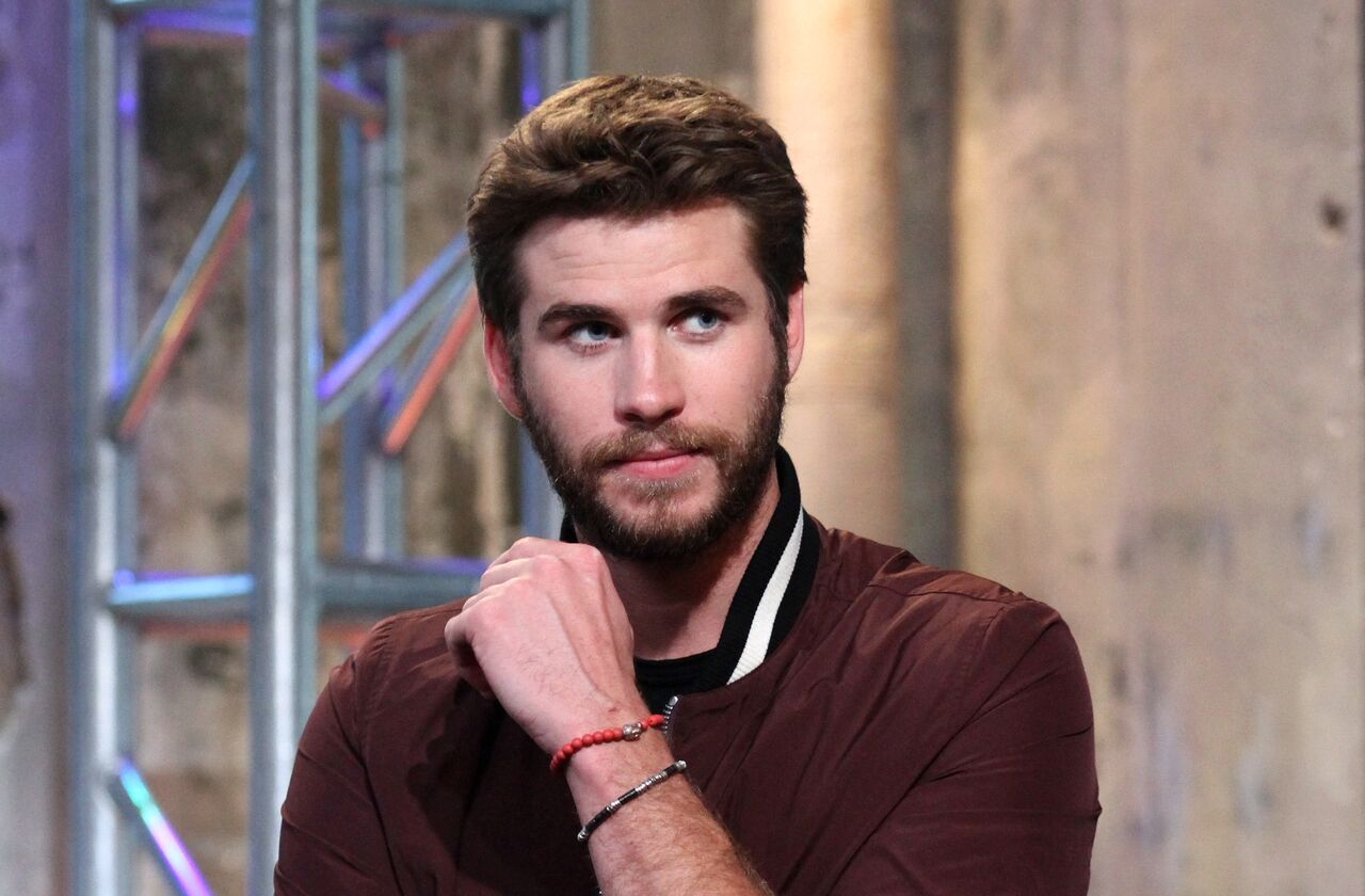 "Liam Hemsworth appears to promote ""Independence Day: Resurgence"" during the AOL BUILD Series. 