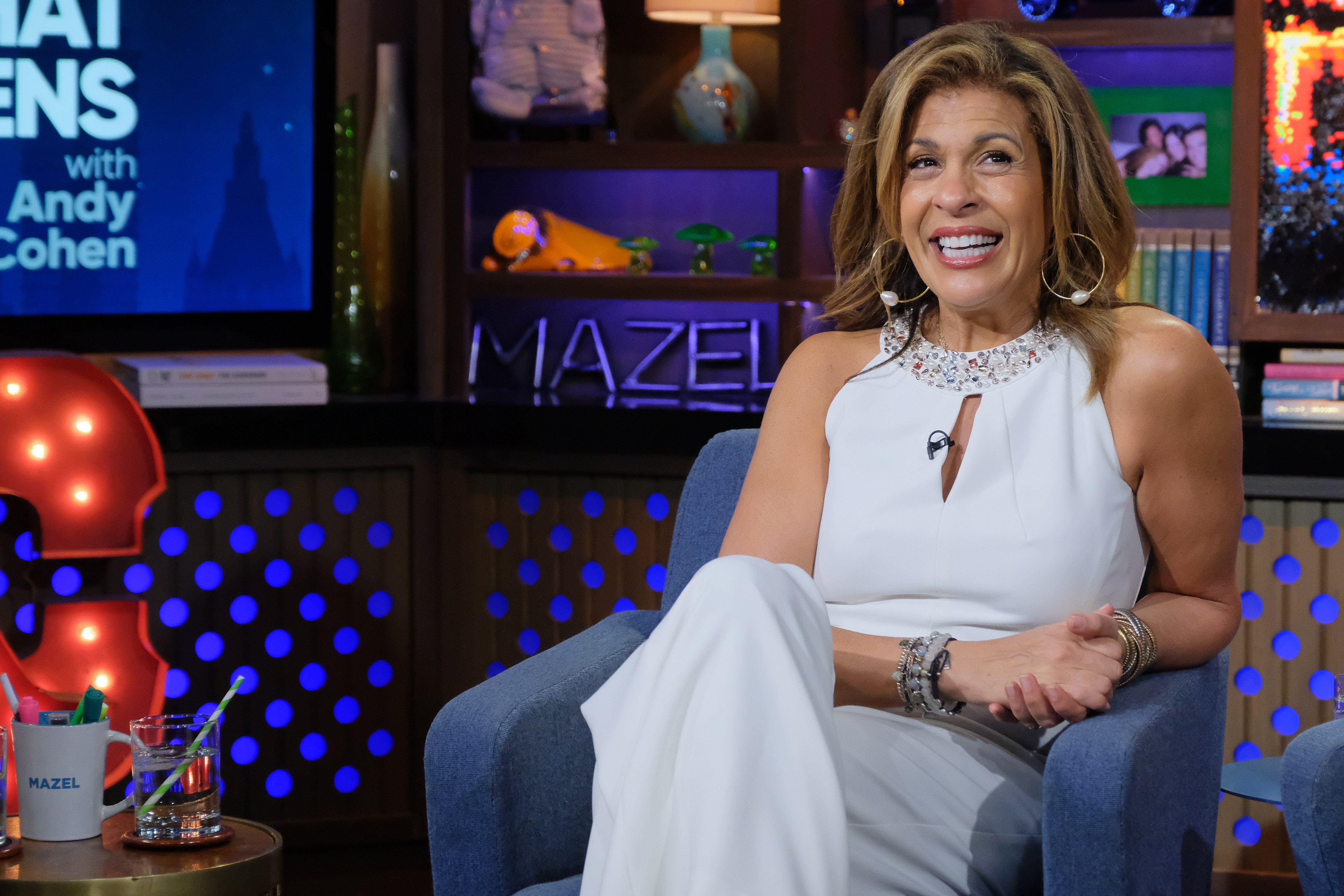 """Hoda Kotb appears on """"Watch What Happens Live with Andy Cohen"""" during season 17 on February 12, 2020 
