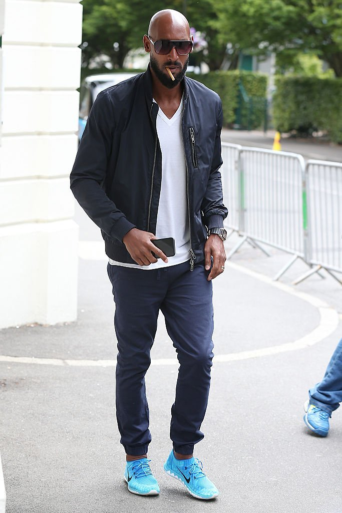 Nicolas Anelka le 8 juillet 2015 à Londres. l Source : Getty Images