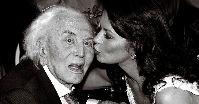 Catherine Zeta-Jones Shares Touching Tribute to Her Father-In-Law Kirk Douglas after His Death at 103