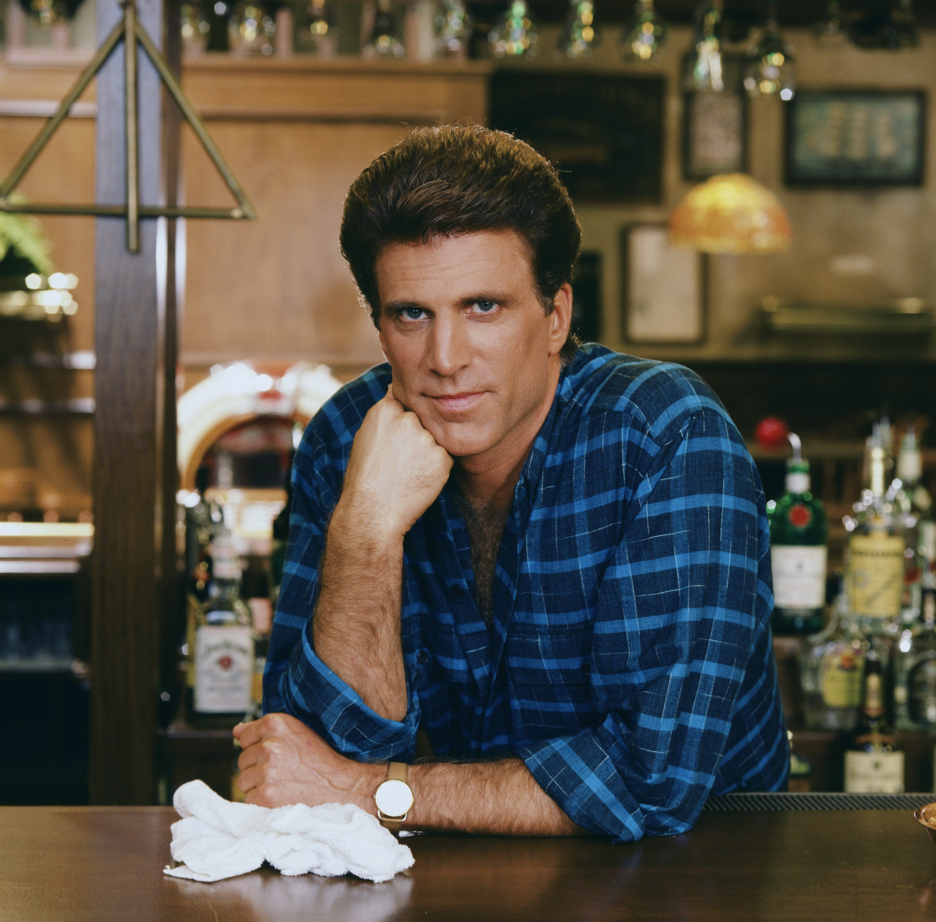 """Ted Danson plays Sam Malone in """"Cheers"""" 